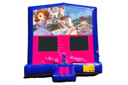 SOFIA THE FIRST PINK/PURPLE BOUNCE HOUSE