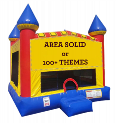 Castle Large Bouncer -100+ Themes Available
