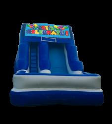 Let's Celebrate 16'Wet OR Dry Slide