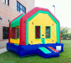 Small Red/Green/Blue/Yellow Bounce House