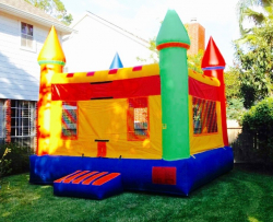 Multi-Color Castle Bounce House