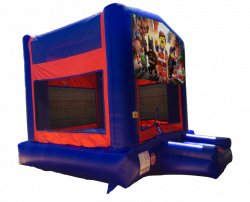 The Lego Movie Red/Blue/Yellow Bounce House