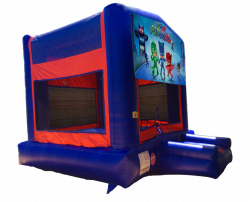 PJ Masks Red/Blue/Yellow Bounce House