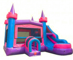 PINK / PURPLE Wet OR Dry SIDE SLIDE/BOUNCE COMBO
