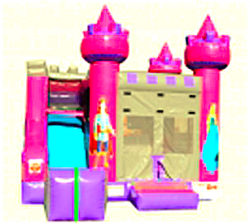 SPACE SAVING PRINCESS FRONT SLIDE 4 in 1 COMBO