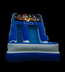 Star Wars 16'Wet OR Dry Slide