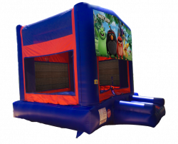 Angry Birds Red/Blue/Yellow Bounce House