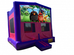 Angry Birds Pink/Purple Bounce House
