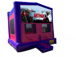 Ant-Man Pink/Purple Bounce House