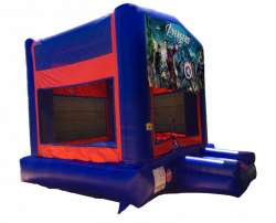 The Avengers Red/Blue/Yellow Bounce House