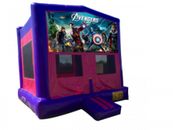 The Avengers Pink/Purple Bounce House