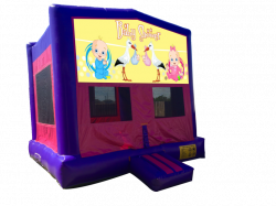 Baby Shower Pink/Purple Bounce House