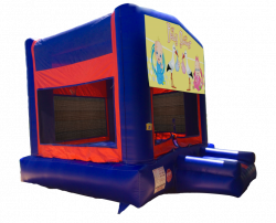 Baby Shower Red/Blue/Yellow Bounce House