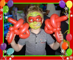 Face Painter / Balloon Twister Combo Artist