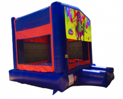 Barney Red/Blue/Yellow Bounce House