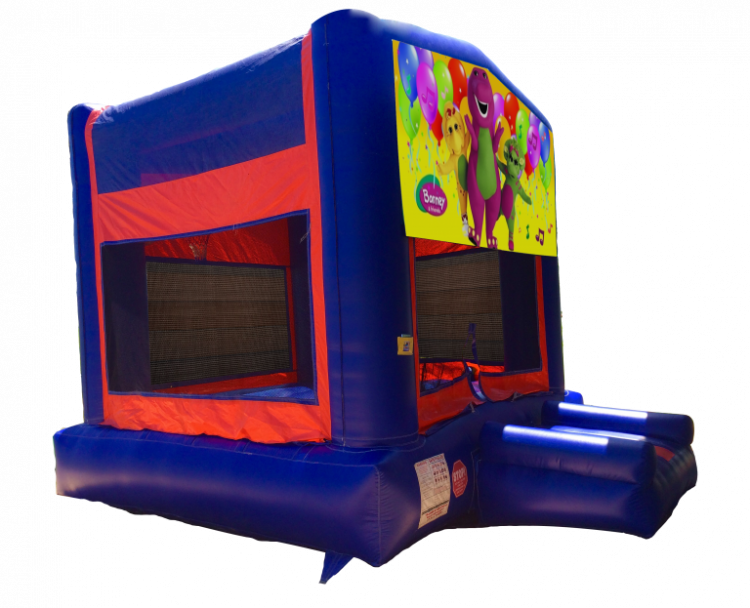 Strange Barney Red Blue Yellow Bounce House Bounce House Rentals Download Free Architecture Designs Meptaeticmadebymaigaardcom