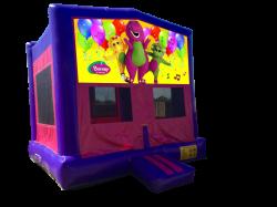 Barney Pink/Purple Bounce House
