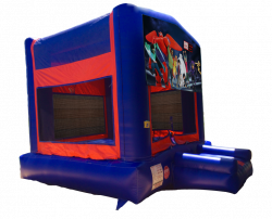 Big Hero 6 Red/Blue/Yellow Bounce House