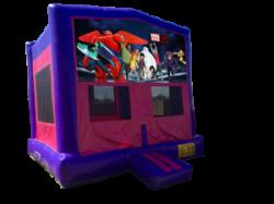 Big Hero 6 Pink/Purple Bounce House