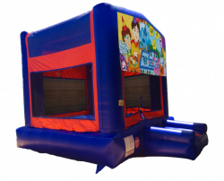 Blue's Clues Red/Blue/Yellow Bounce House