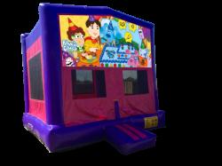 Blue's Clues Pink/Purple Bounce House