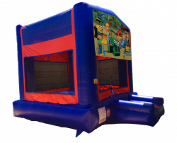 Bob The Builder Red/Blue/Yellow Bounce House