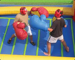 Oversized Boxing Arena