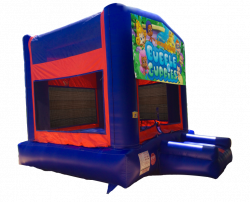 Bubble Guppies Red/Blue/Yellow Bounce House
