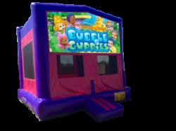 Bubble Guppies Pink/Purple Bounce House