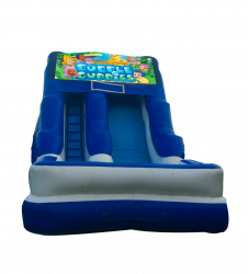 Bubble Guppies 16'Wet OR Dry Slide