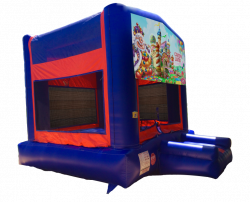 Candy Land Red/Blue/Yellow Bounce House