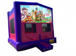 Candy Land Pink/Purple Bounce House