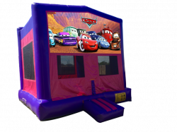 Cars Pink/Purple Bounce House