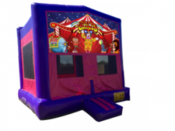 Circus Pink/Purple Bounce House