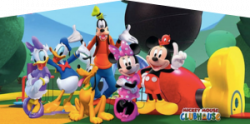 Mickey Mouse Clubhouse Castle Moonwalk