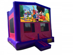 Mickey Mouse Clubhouse Pink/Purple Bouncer