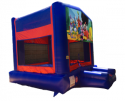 Mickey Mouse Clubhouse Red/Blue/Yellow Bounce House