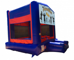 Graduation Congratulations Red/Blue/Yellow Bounce House