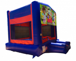 Doc McStuffins Red/Blue/Yellow Bounce House