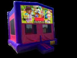 Doc McStuffins Pink/Purple Bounce House