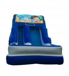 Dora The Explorer 16' Wet OR Dry Slide