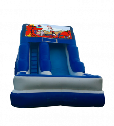 Seussville 16'Wet OR Dry Slide