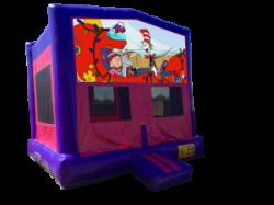 Seussville Pink/Purple Bounce House