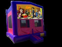 El Chavo Pink/Purple Bounce House