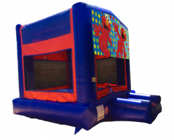 Elmo Red/Blue/Yellow Bounce House