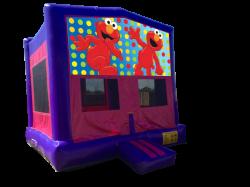 Elmo Pink/Purple Bounce House