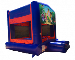 Disney Fairies Red/Blue/Yellow Bounce House