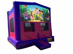 Disney Fairies Pink/Purple Bounce House