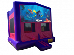 Finding Dory Pink/Purple Bounce House