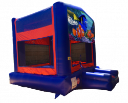 Finding Nemo Red/Blue/Yellow Bounce House
